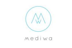 Mediwa-logo-bela-podlaga-starkmat-oblikovanje-spletna-stran-oblikovanje-logotipa